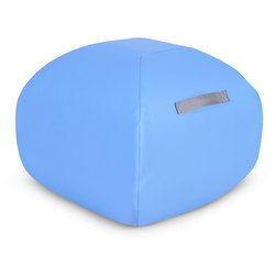 Angeles® Turtle Seat™ Classroom Furniture - 16 in. - Azure