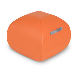 Angeles® Turtle Seat™ Classroom Furniture - 16 in. - Orange