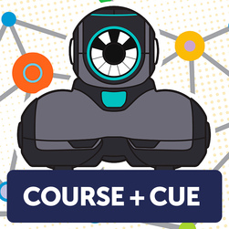 Introduction to Coding and Robotics with Cue™ Online Professional Development Course Plus Cue™ Robot