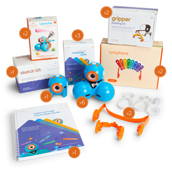 Wonder Workshop K-5 Classroom Pack, 1-Year Subscription