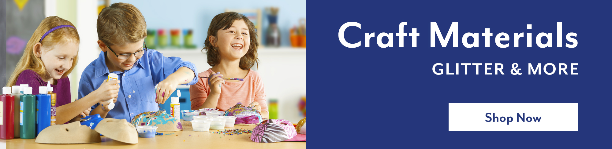Craft materials - glitter and more - Shop Now
