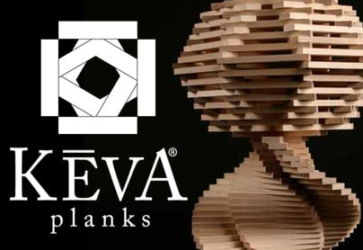 Teaching Art with KEVA® Planks