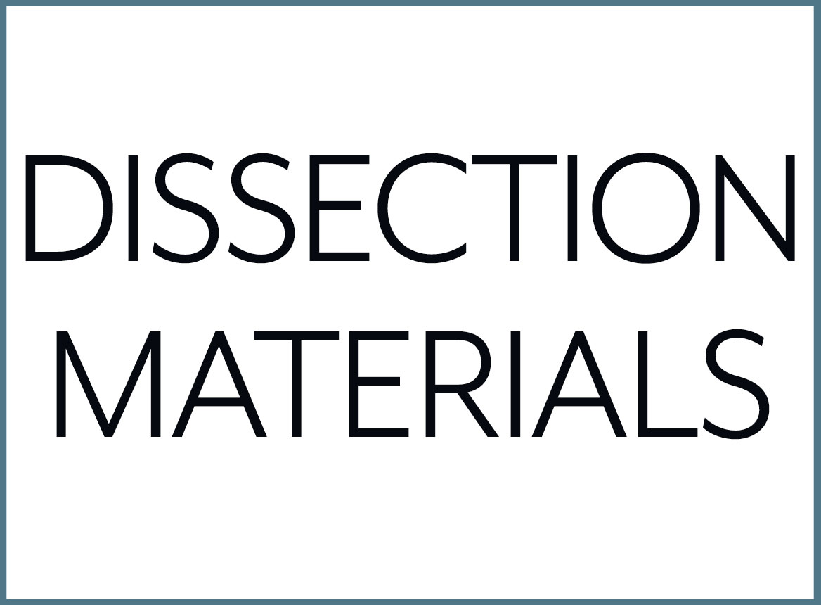 Shop our Dissection Materials Collection