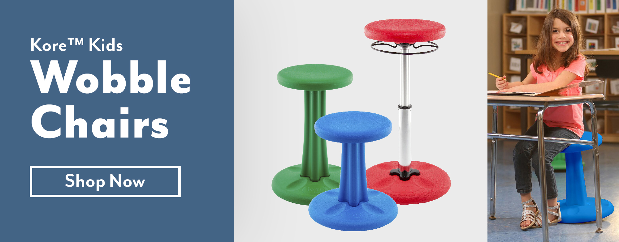 Kore™ Kids Wobble Chair.