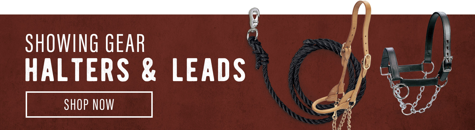 Showing Gear Halters and Leads – Shop Now