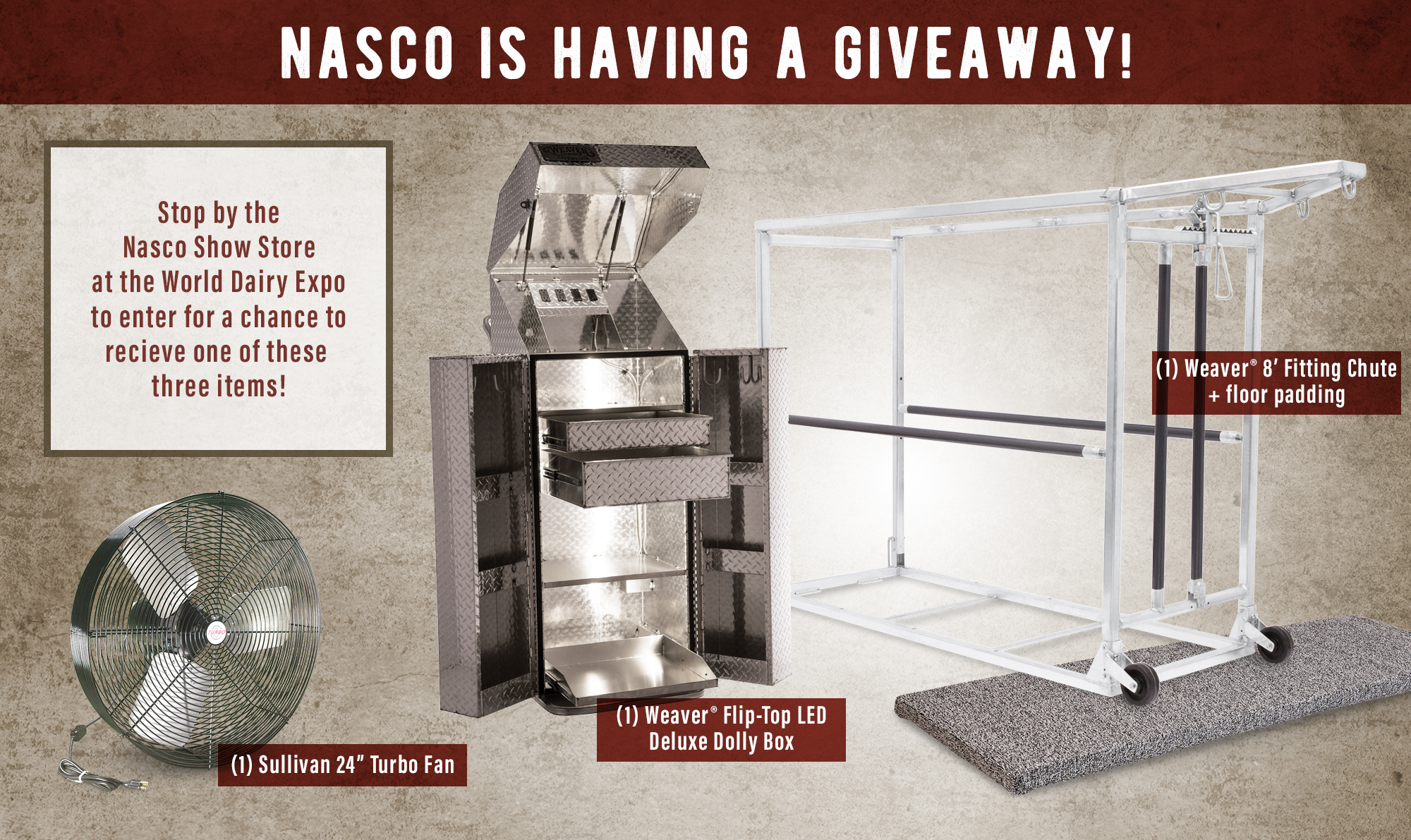 Nasco World Dairy Expo Giveaway