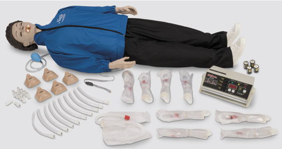 CPARLENE® FULL MANIKIN WITH MEMORY UNIT AND PRINTER