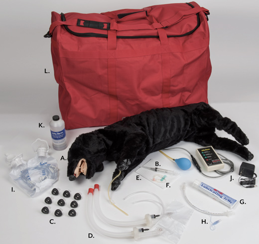 Advanced Sanitary CPR Dog Components - LF01155U