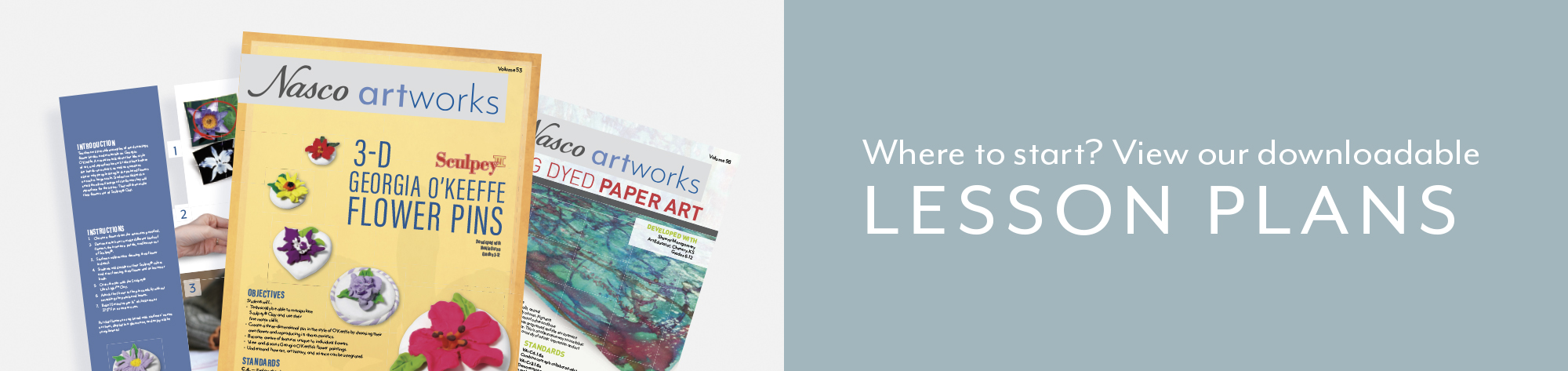 Where to start? View our downloadable lesson plans.